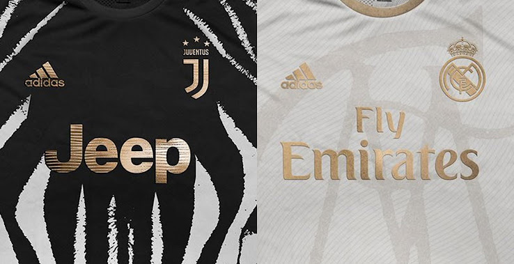 check out d321b 32003 Stunning Adidas Juventus & Real Madrid Concept Kits by ...