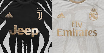size 40 21643 5a7b8 Stunning Adidas Juventus  Real Madrid Concept Kits by rupertgraphic