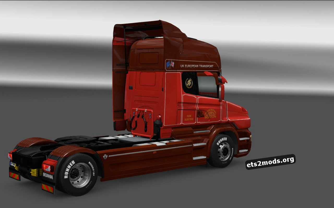 Benton Brothers Skin Scania T