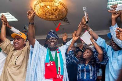Lagos APC Top Men Dump Ambode, Endorse Sanwo-Olu