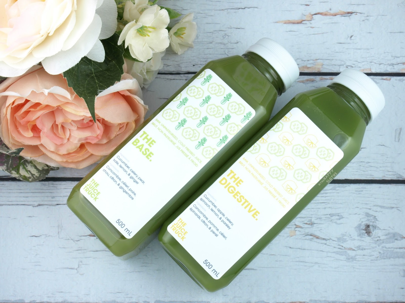 The Juice Truck Juice Cleanse Review | The Base & The Digestive