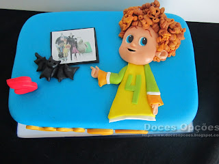 dennis Hotel Transilvânia 2 birthday cake
