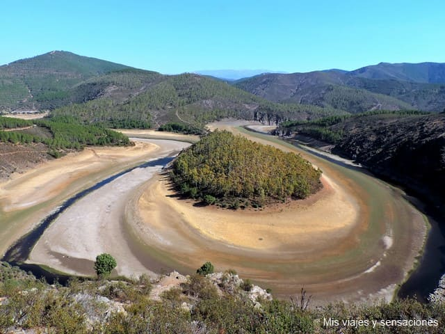 Meandro del Melero, Riomalo de Abajo, Extremadura