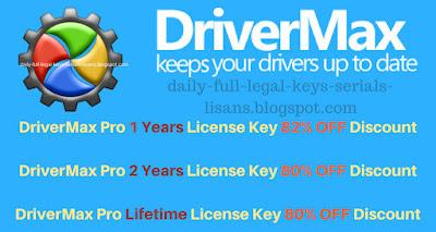 drivermax pro key, license key