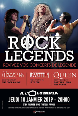 The doors led zeppelin et queen se rassemblent dans rock legends