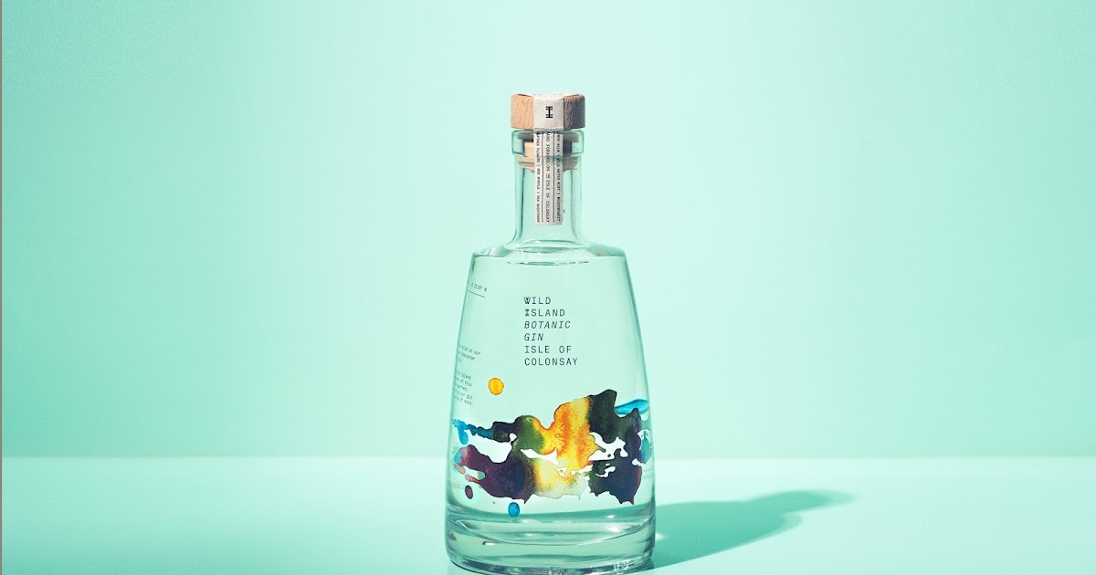 Wild Island Botanical Gin On Packaging Of The World