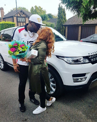 Image result for E-Money Surprises His Wife With A 2016 Customised Range Rover Super Sport