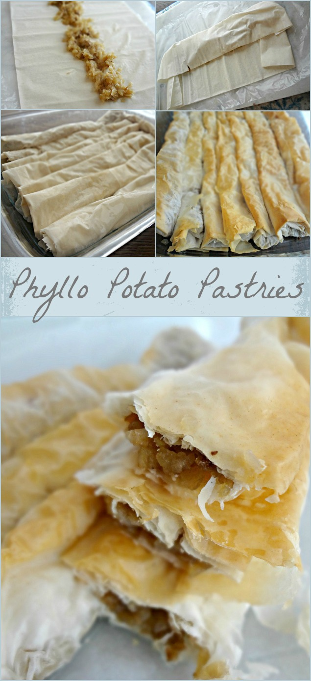 Phyllo Potato Pastries