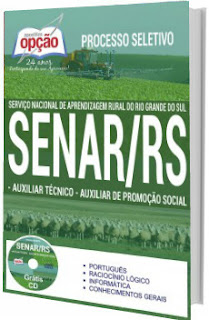 Apostila SENAR-RS 2017 Auxiliar Técnico e Auxiliar de Promoção Social