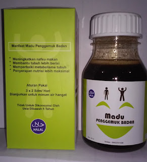 Obat madu penggemuk badan herbal alami al mabruroh tradisional