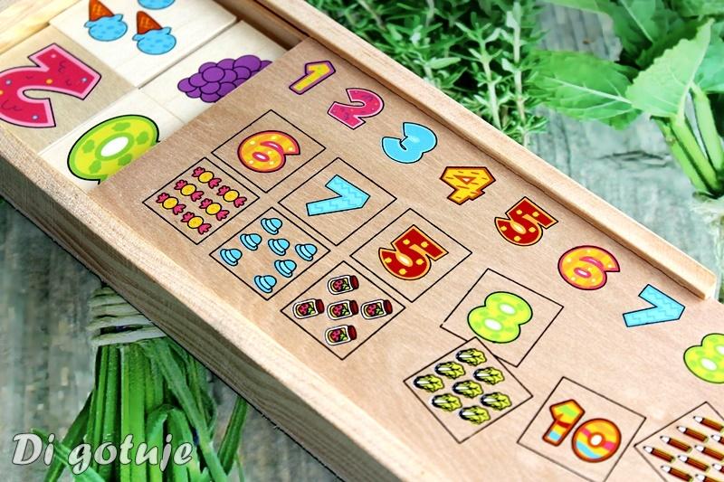 Dopasuj Cyfry, czyli drewniana gra edukacyjna pomagająca w nauce liczenia - recenzja