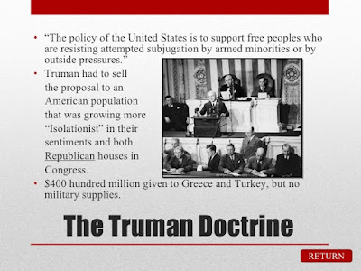 Role of Truman Doctrine in Eradicating Poverty and Ushering Development in Third World Countries