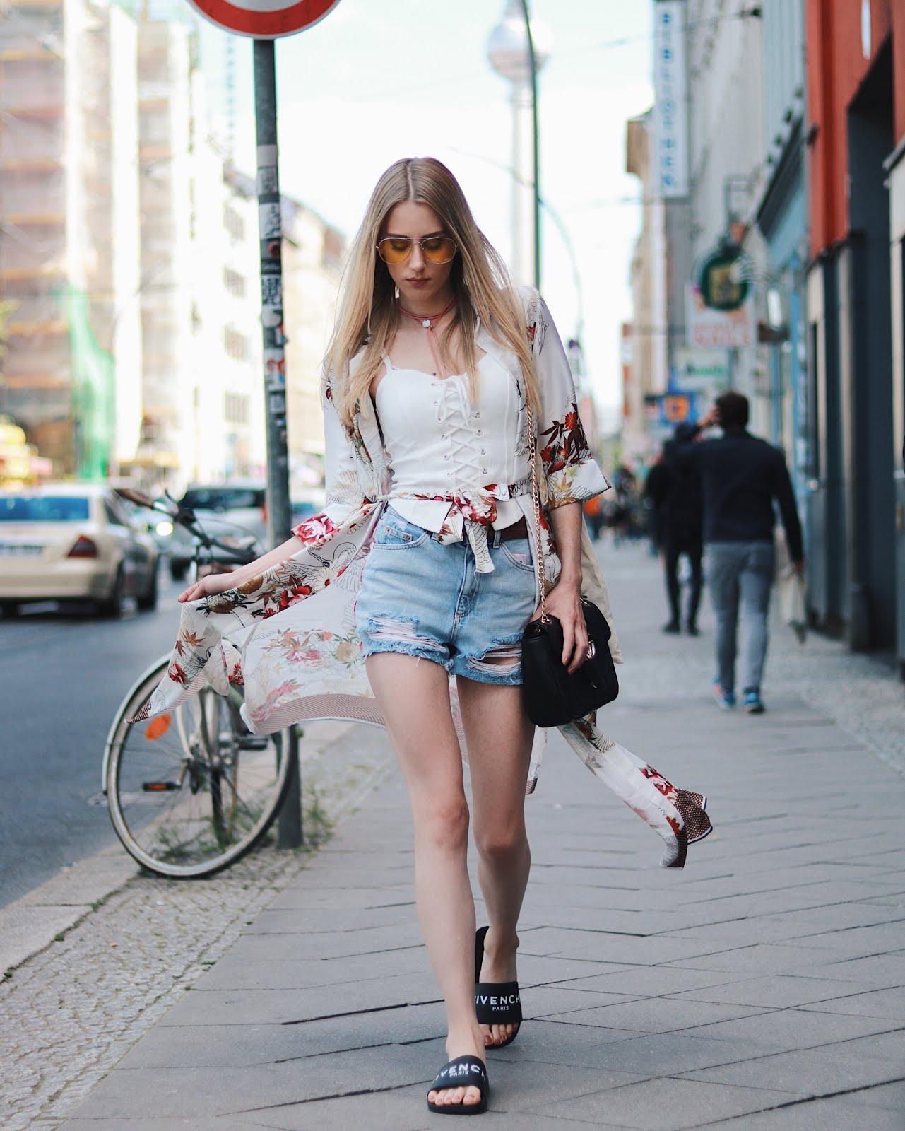 Kimono Fashion Streetstyle