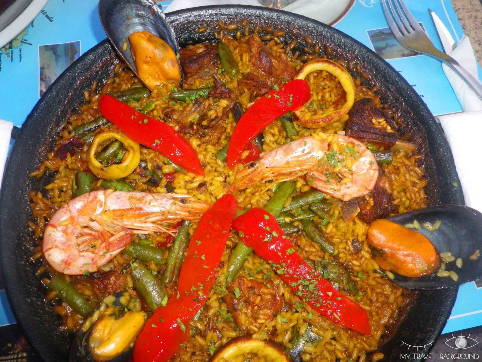 My Travel Background : 14 plats typiques dégustés en voyage - Paella en Espagne, Majorque