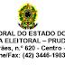 Atenção Linha Dezembro COMUNICADO DO FÓRUM ELEITORAL - Prudentópolis
