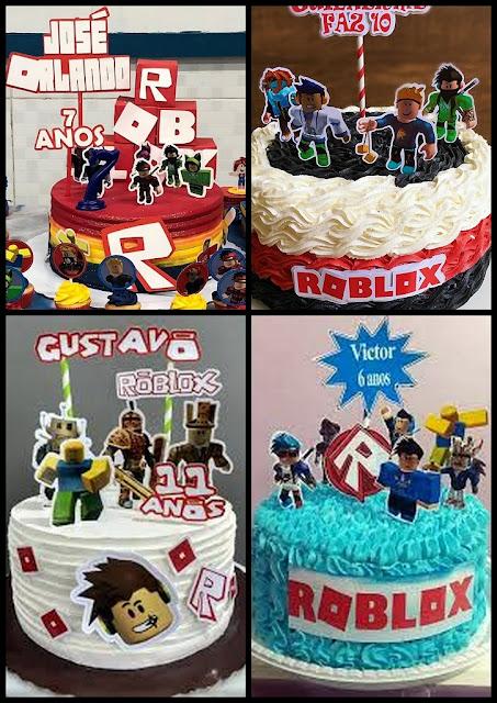 Roblox: Toppers para Tartas, Tortas, Pasteles, Bizcochos o Cakes para Imprimir Gratis.