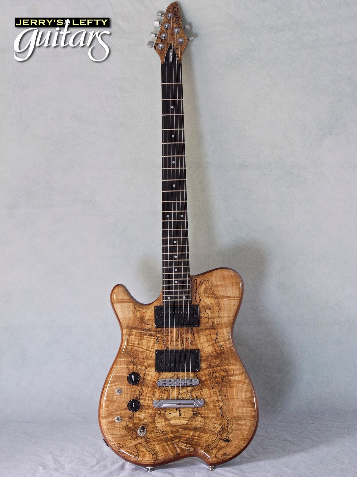 Jerry U0026 39 S Lefty Guitars Newest Guitar Arrivals  Updated Weekly   Carvin Holdsworth Spalted Maple