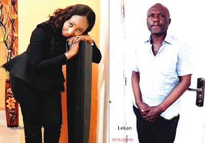 Ronke Shonde's war with husband started when she found out he had a child outside wedlock