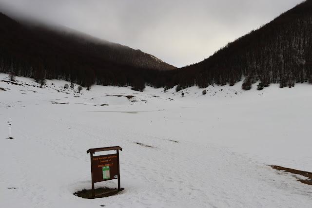 Ciaspolata nel Parco Nazionale del Pollino
