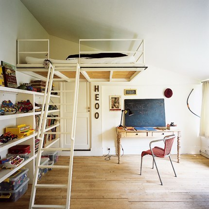 Good Style: Small Spaces: Loft Beds