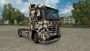 Camouflage Skin for Mercedes MP4