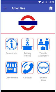 Mumbai Local Trains Mobile App