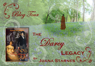 Blog Tour: The Darcy Legacy by Joana Starnes