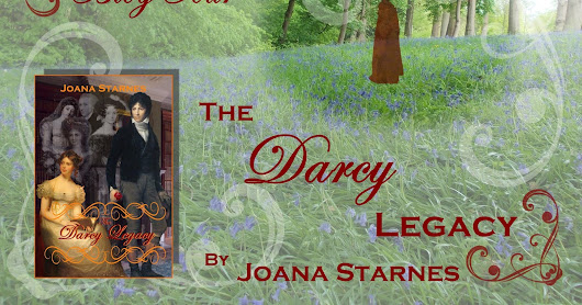 The Darcy Legacy by Joana Stanes - Blog Tour & Giveaway - Review