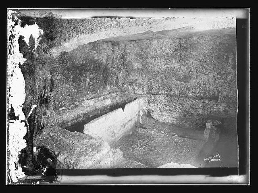 Original Garden Tomb Picture