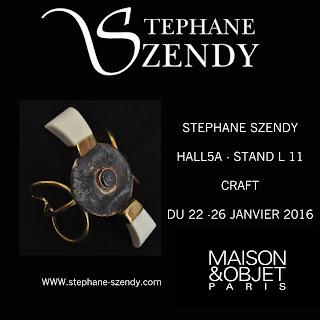 Szendy Stephane expose à Maison et objet