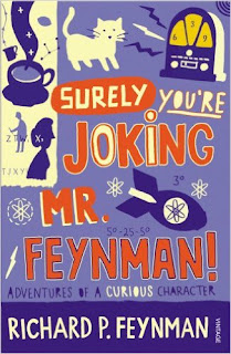SURELY YOU ARE JOKING, MR. HEYNMAN  - BOOK COVER