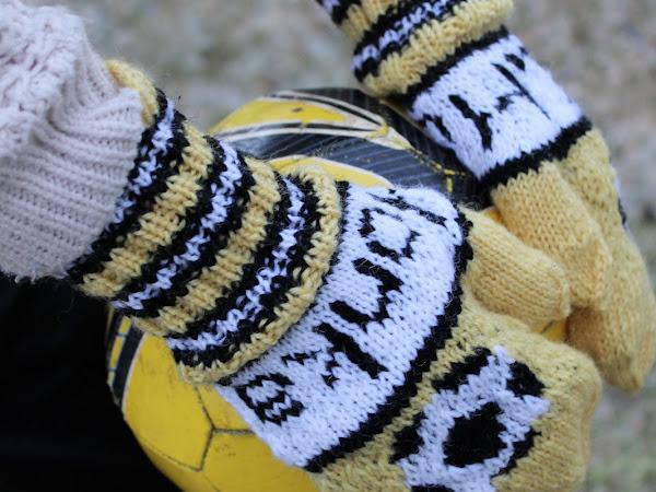 FC Honka -jalkapallolapaset - Football mittens