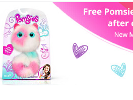 FREE POMSIES PET TOY {Deal Expires November 16}