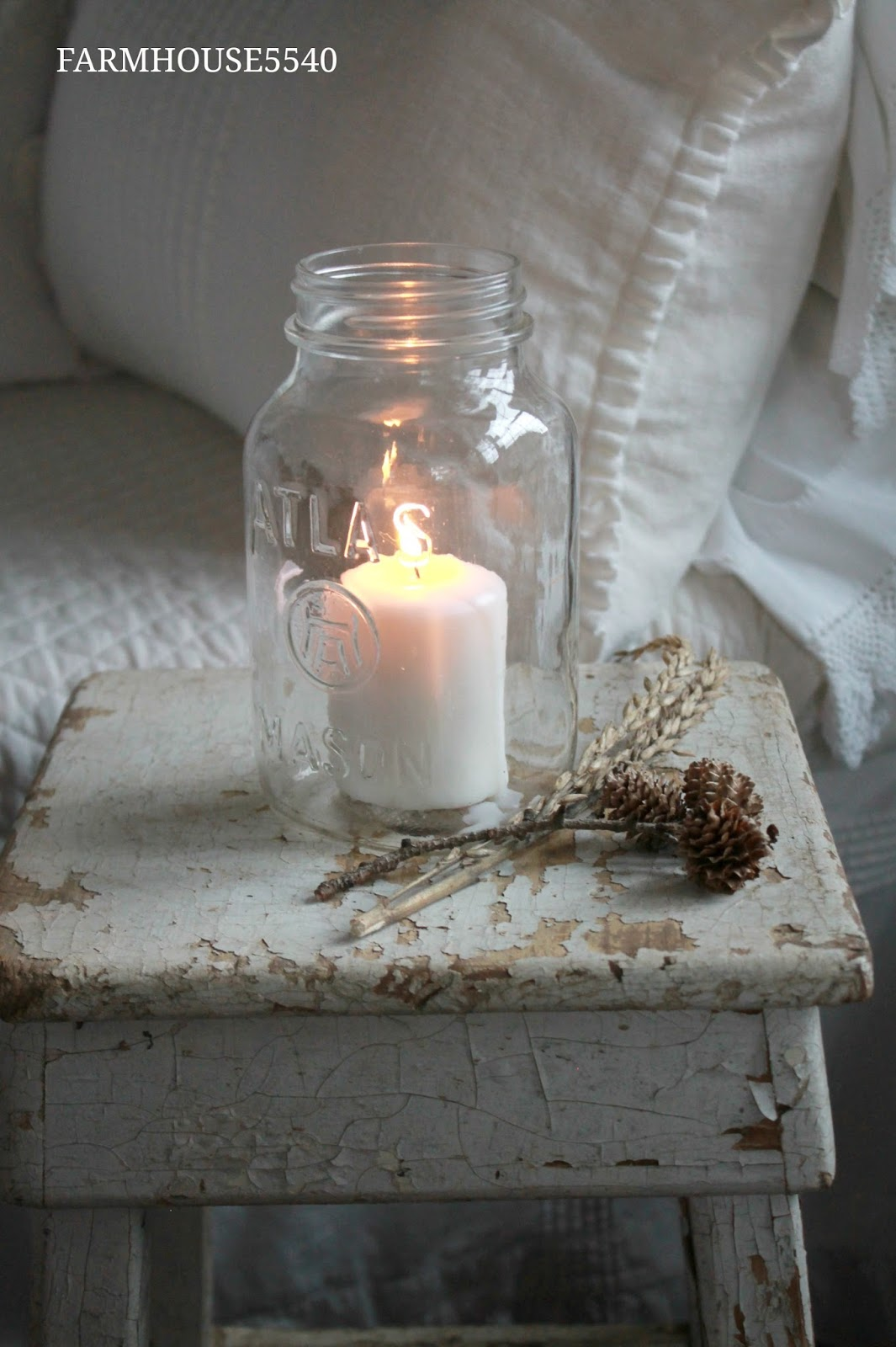 FARMHOUSE 5540 Farmhouse Inspiration Candle Light