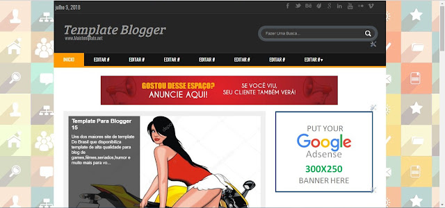 Templates para Blogger Slider