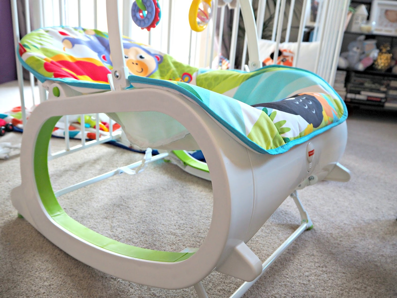 The baby rocker that you need for your little one | infant-to-toddler rocker | Fisher-Price | www.lovemaisie.com