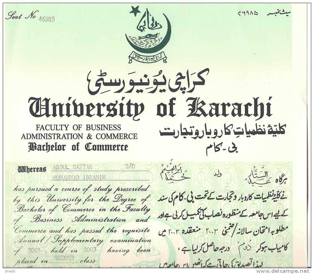 Documents Attestation in Karachi Pakistan