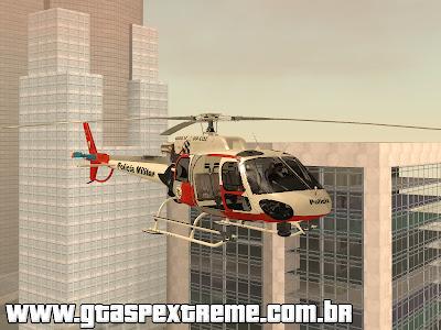 Helicoptero Aguia 11 PMESP para GTA San Andreas