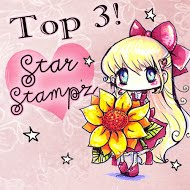 9 april 2020 in top 3 bij Starstampz