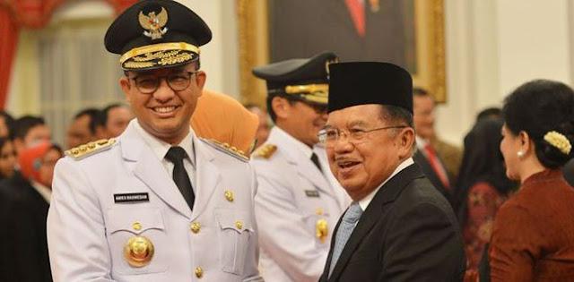 JK: Waktu Saya Usulkan Anies Baswedan, Prabowo Tidak Minta Uang