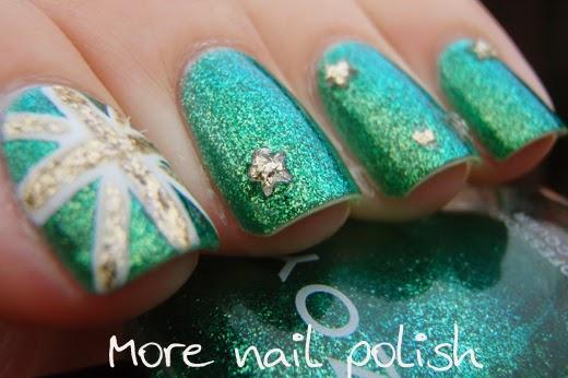Aussie Nails Australia Day 2014 More Nail Polish