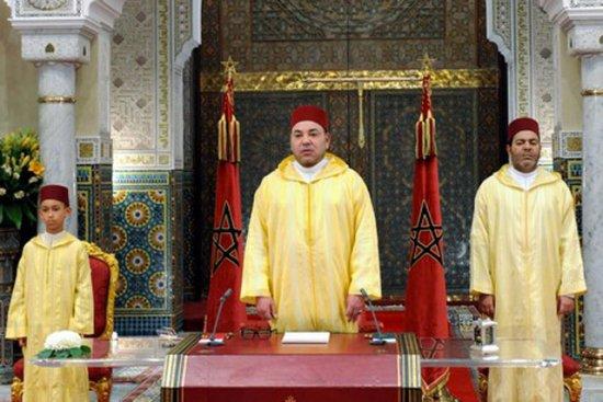 Les Marocains célèbrent la fête du trône.
