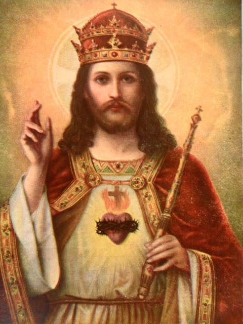 Resultado de imagem para Sagrado Coração de Jesus Cristo, Rei do Universo.