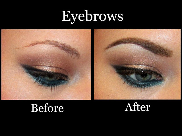 Makeup HD: How I do my eyebrows: A step-by-step picture ...