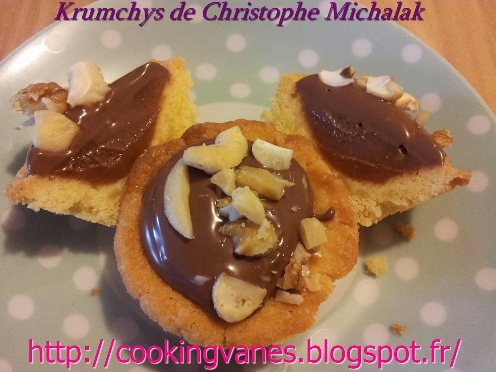 krumchys de christophe michalak blogs de cuisine