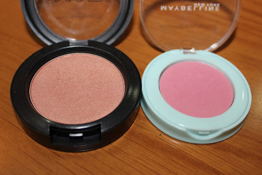 Dynamic Duo #1: MAC Margin and Maybelline Fresh Rose Blushes