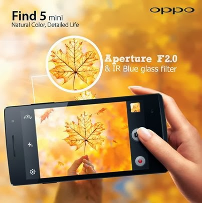 Oppo, OPPO Find 5 Mini, android, ColorOS, ponsel, smartphone, ponsel android terbaru, handphone terbaru, hp android terbaru