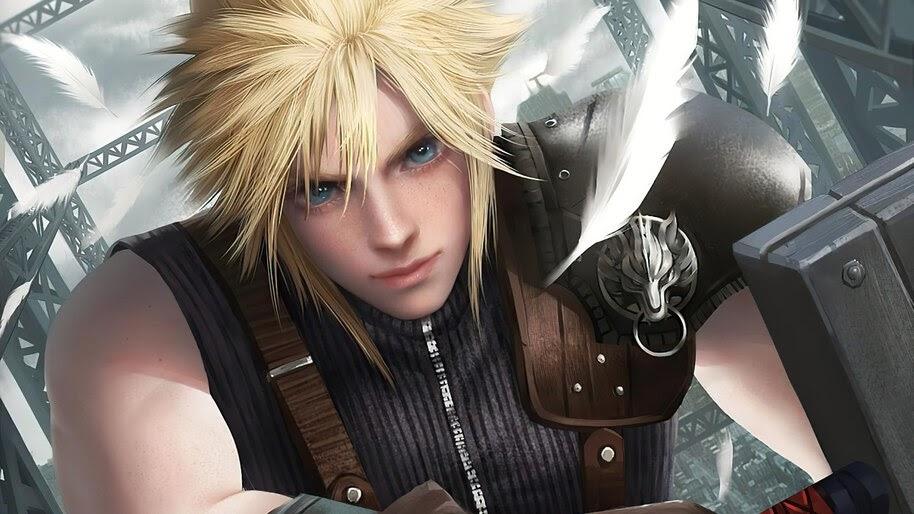 Cloud Strife, Final Fantasy 7 Remake, Art, 4K, #7.1767