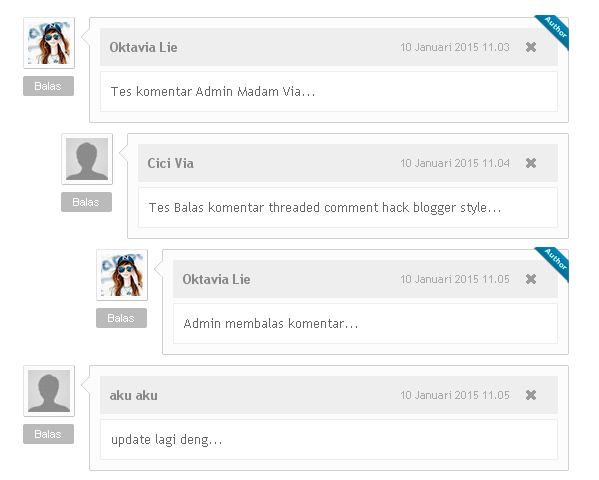 Cara Membuat Threaded Comment Hack Blogger Style 3