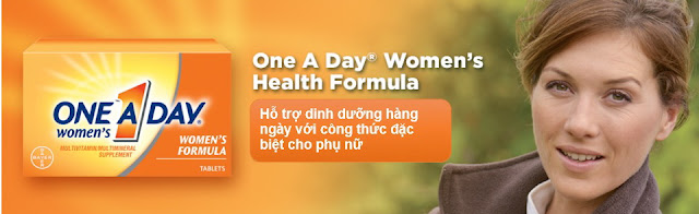 Viên Uống Vitamin Tổng Hợp One A Day Women's Formula 300 Viên Của Mỹ www.huynhgia.biz